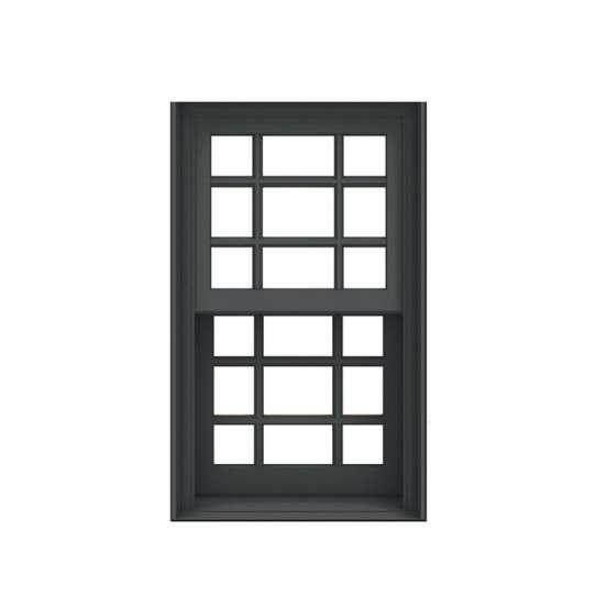 China WDMA vertical sliding window Aluminum double single hung Window