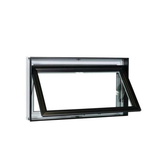 China WDMA Cheap Champagne Colour 24 X 24 Chain Winder Aluminum House Casement Security Top Awning Hung Awning Window Bottom Fixed Windows