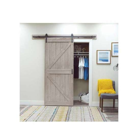 WDMA Cheap House Wood Marriott Hotel Sliding Barn Door Price