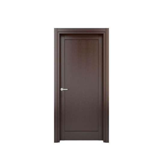 WDMA Cheap Price PVC Interior Toilet Door PVC Bathroom Door Price