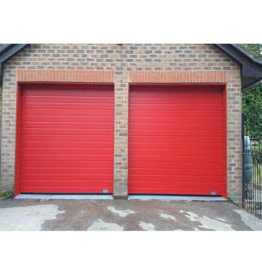 China WDMA transparent sectional garage door