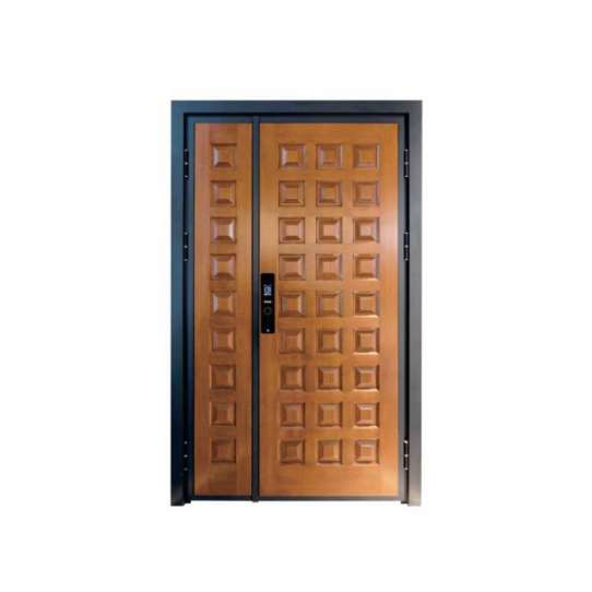 WDMA aluminium entry door Aluminum Casting Door