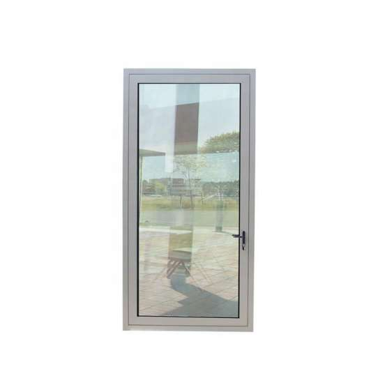 China WDMA China Cheap Apartment House Interior Arch Aluminium French Glass Door For Sale