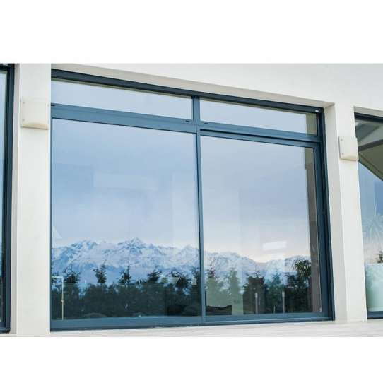 China WDMA China Factory Aluminum Sliding Tempered Glass Window