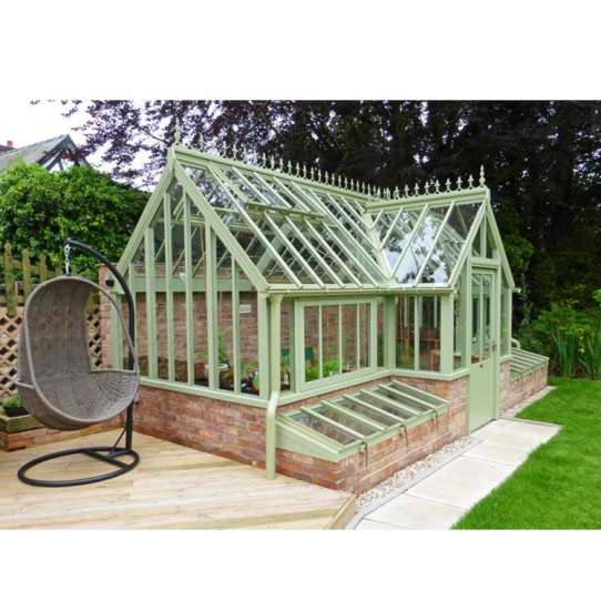 WDMA China Manufacturer Glass House Living Room Garden Green House Factory