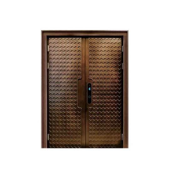 China WDMA cast aluminium door designs