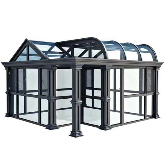 China WDMA China Produced Conservatory Sunroom Roof Kit With Sliding Windows Factory Suppliers