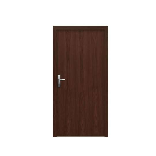 WDMA China Produced Luxury Carved Interior Solid Wood Door