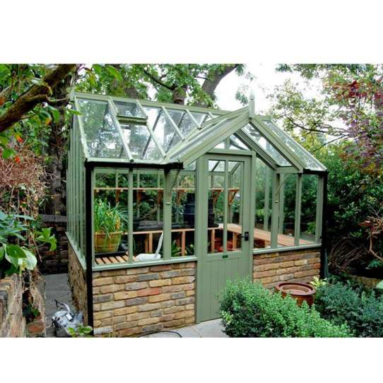 WDMA China Product Garden Screen House Tempered Glass Sunroom Factory Price