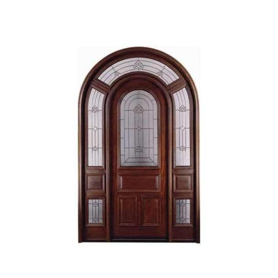 China WDMA main door models Wooden doors