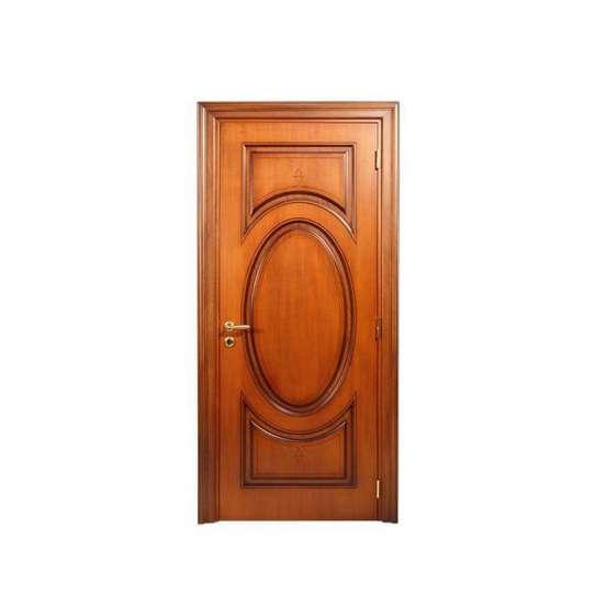 China WDMA raw wood door Wooden doors