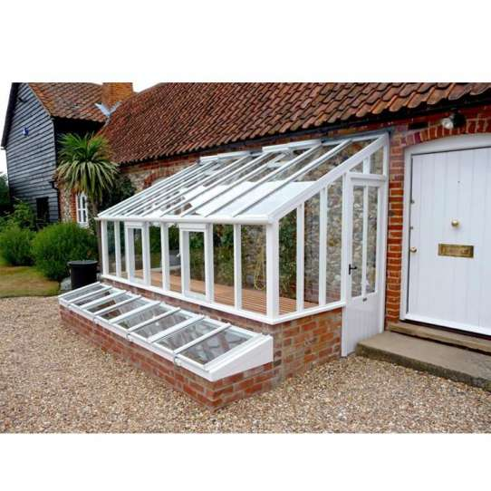 WDMA Chinese Supplier Simple Design Prefab Glass Garden House Factory Suppliers