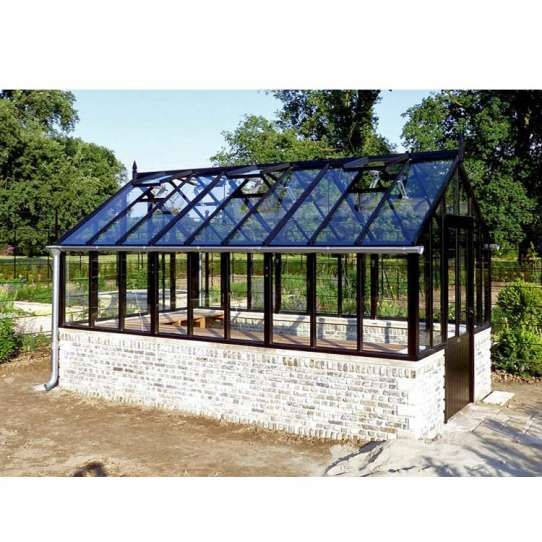 China WDMA Chinese Supplier Simple Design Prefab Glass Garden House Factory Suppliers