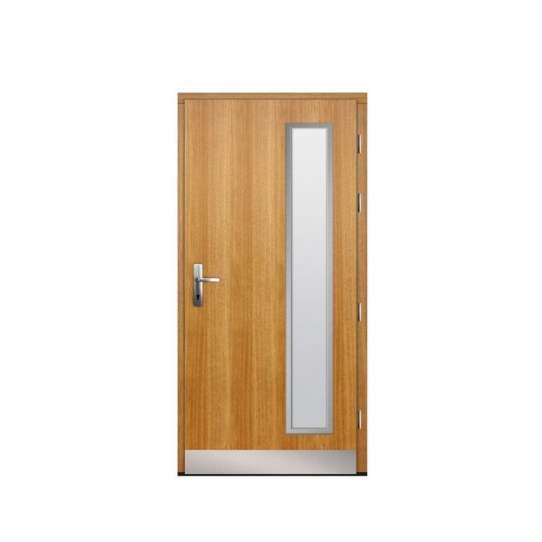 China WDMA solid teak door Wooden doors