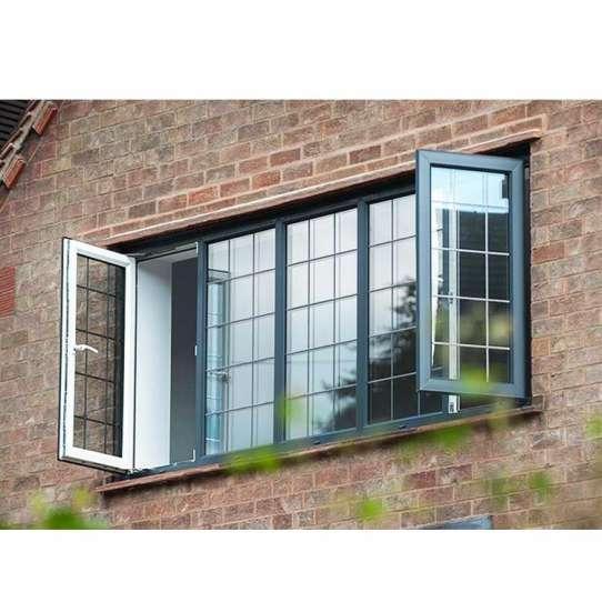 China WDMA aluminium window grill design Aluminum Casement Window