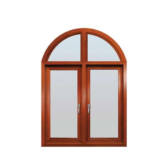 WDMA church aluminium swing stained glass window with grid Aluminum Casement Window