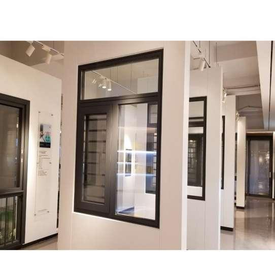 China WDMA aluminum sliding window with transom window