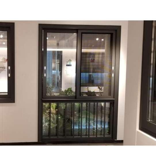 China WDMA aluminum sliding window with transom window Aluminum Sliding Window