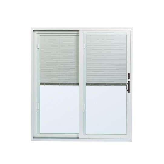China WDMA Competitive Price Aluminum Single Panel Interior Magnetic Metal Sliding Door