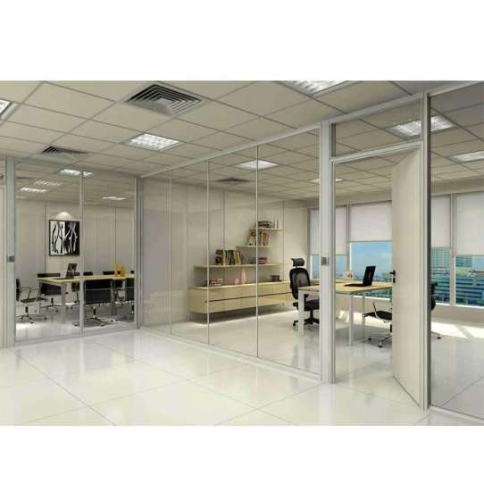 WDMA cost of glass partition wall
