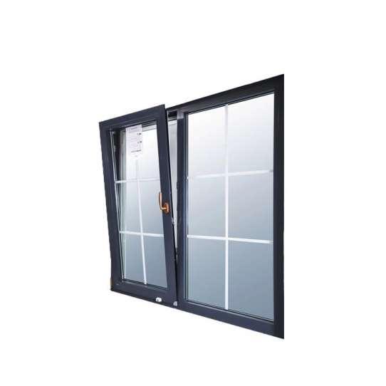 China WDMA Csa dade miami Standard Thermal Break Aluminum Tilt And Turn Window On Sales