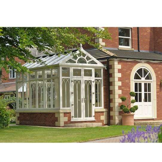 China WDMA glass sunroom panels
