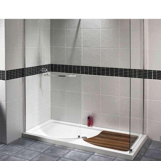 WDMA Custom Made Framed Glass Shower Enclosure Shower Door Shower Room