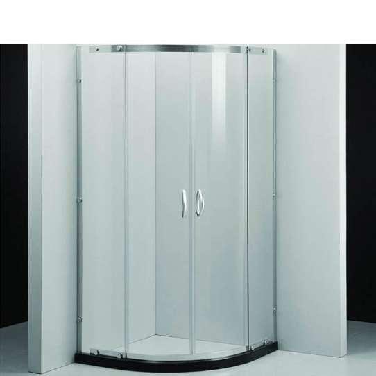 WDMA framed glass shower enclosure