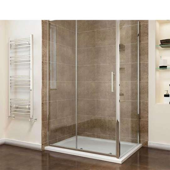 China WDMA framed glass shower enclosure