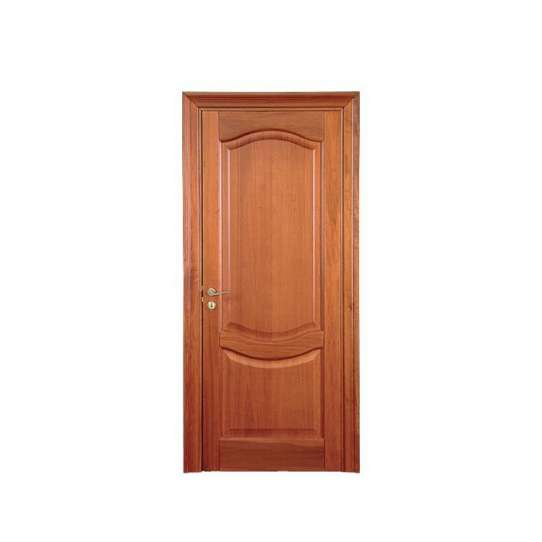China WDMA Customized Design Miami Interior Teak Wood Door Design