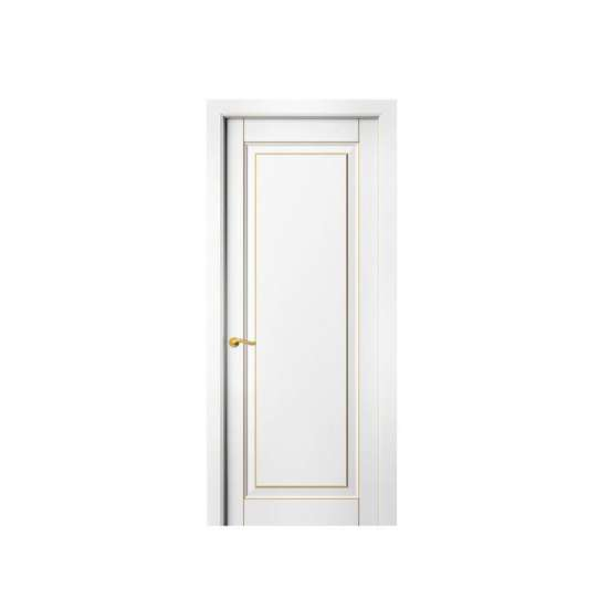 China WDMA Customized Design Single Colonial Wooden Doors Design