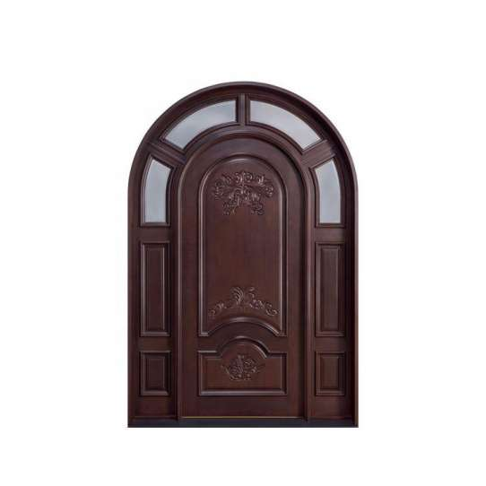 WDMA Interior Wooden Rounded Doors