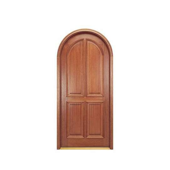 China WDMA Customized Latest Design Wooden Rounded Doors Interior Room Door Design