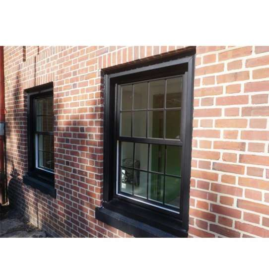 WDMA Customized Replace Glass Vertical Sliding Aluminum Frame Windows With Latch Lock On Sales