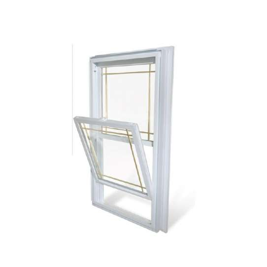 China WDMA Vertical sliding aluminum window Aluminum Single Hung Window