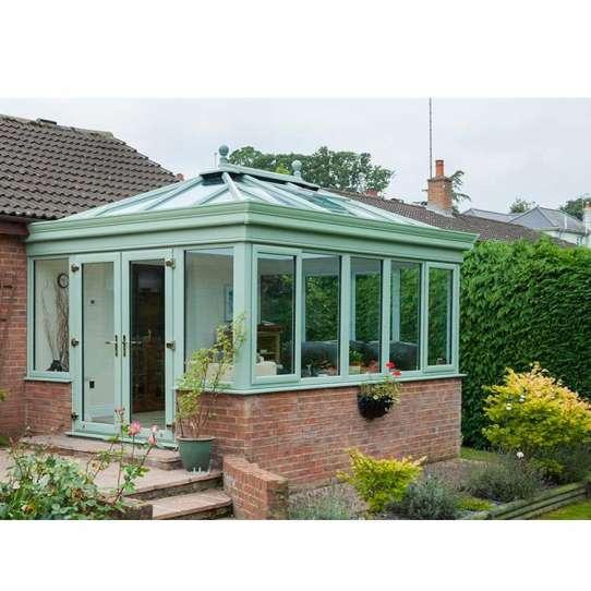 WDMA villa container glass house Aluminum Sunroom