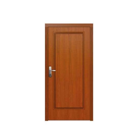 WDMA Davao City Latest Design Teak Wood Front Flush Door Design