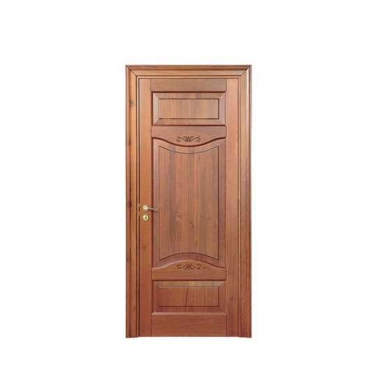 WDMA Design Of Solid Oak Wooden Carving Door Price