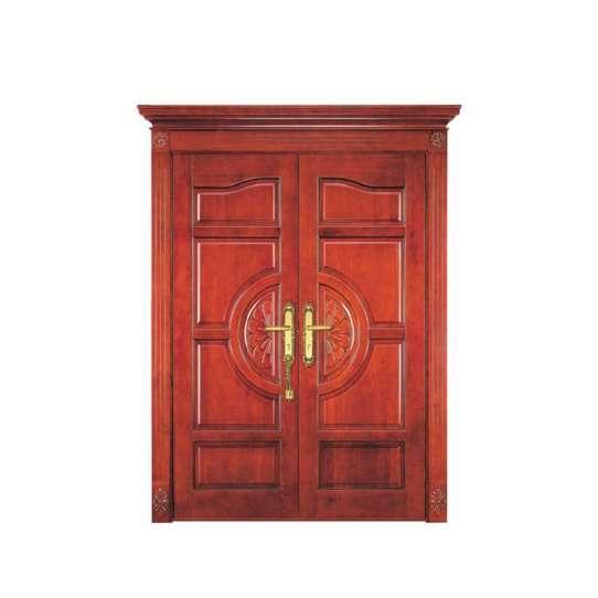 China WDMA wood carving door design Wooden doors