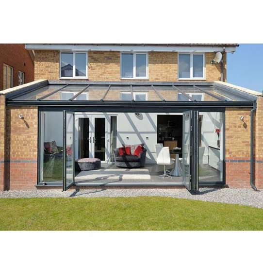 China WDMA Direct by China Simple Design Aluminium Glass House for Pool Factory Supplier