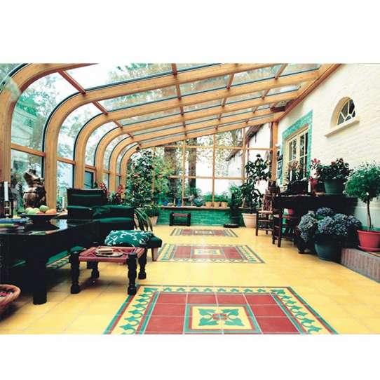 China WDMA glass house for pool Aluminum Sunroom