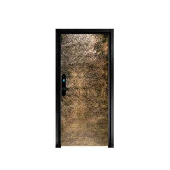 China WDMA Double Leaf Single Aluminium Casting Storefront Art Door Design