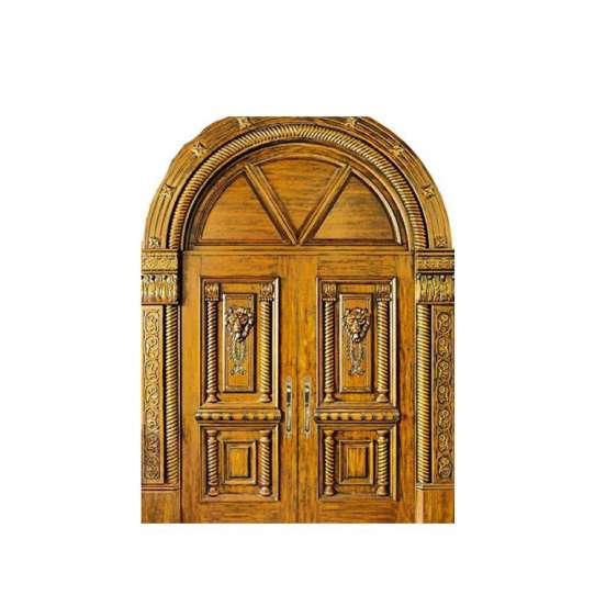 WDMA Double Wooden Main Entrance Swing Door Design Wooden Door Turkey