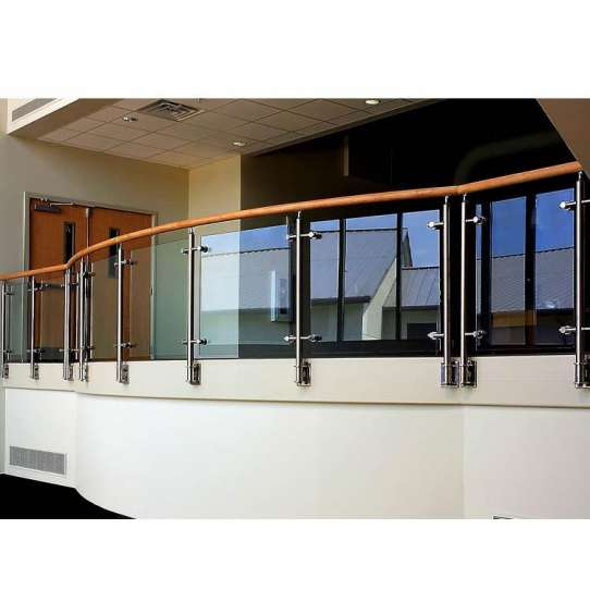 China WDMA Duplex House Indoor Interior Premade Prefab Metal Wire Stair Railing Baluster Design