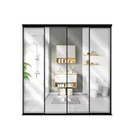 China WDMA Elegant Exterior Aluminium Sliding Doors And Window Design Slim Frame Within Large Glass Sliding Doors Designs Home