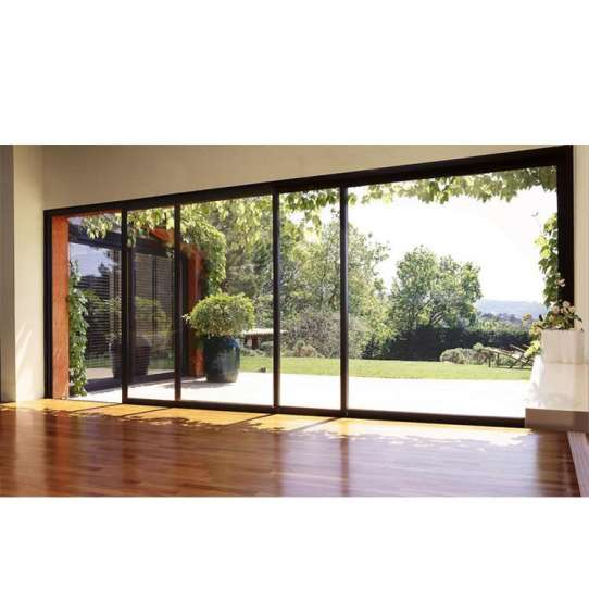 China WDMA Energy Saving Puertana Brand Garage Aluminium Interior Glass Sliding Door