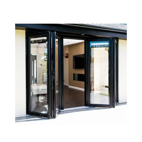 WDMA exterior folding patio door