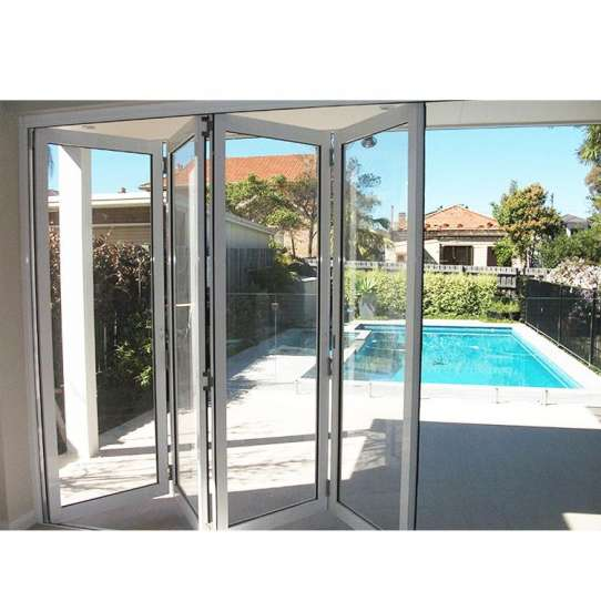 China WDMA Exterior Folding Patio Door Us Lowes French Doors Exterior Accordion Garage Doors