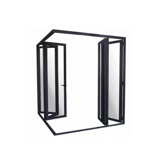 China WDMA exterior folding patio door Aluminum Folding Doors