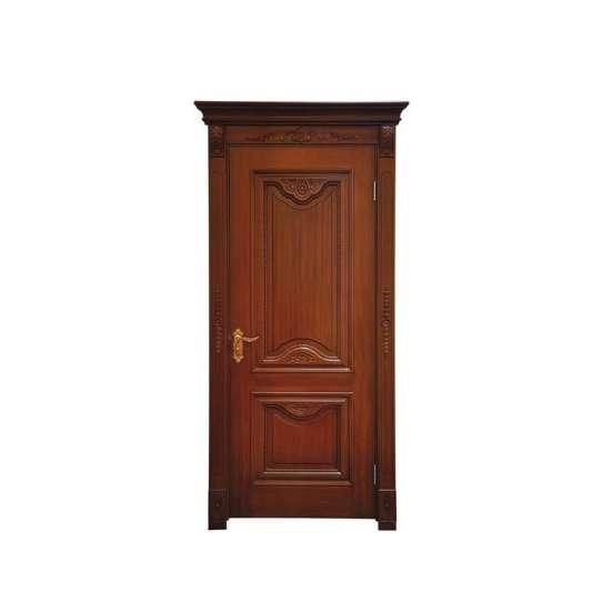 China WDMA mahogany hollow core wood door Wooden doors